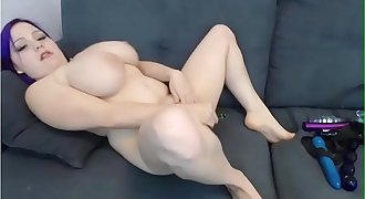 Huge Knockers Midget Masturbating Like Crazy - CamsXrated.com