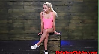 Stranded teen spanked and roughly drilled