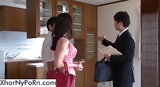 The Realtor Fucks This Sexy Asian Wifey  -XhoRnyPoRn.com