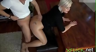 Mature mummy wants a quick fuck before going to work - For more go to xflick.net